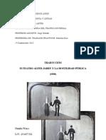traducción Antonin Artaud