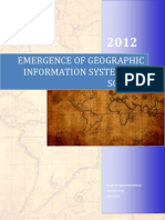 Emergence of Geographical Information Science