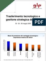 GLP - IAL PN 2009 - Trasferimento Tecnologico e Gestione Strategic A PI