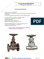 MIGZ Forged-Steel Gate Valve Flange