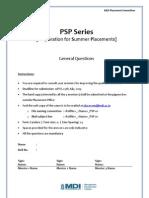 PSP-General Questions Urnav