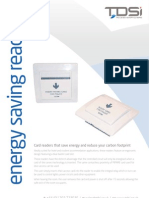 Energy Saving Reader Datasheet