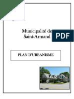 Plan d'urbanisme de Saint-Armand (projet)