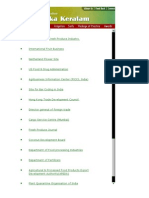 Kerala Agriculture Websites