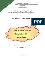 127838112 Cours Et Exercices de Resistance Des Materiaux Kamel MEHDI Sihem ZAGHDOUDI Copy