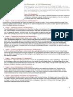 Chapter Summaries of El Filibusterismo