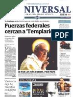 Portada Medios Nacionales Domingo 28-Jul-2013