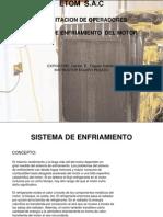 Sistema de Enfriameinto Del Motor ETOM S.a.C