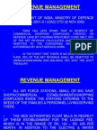 Revenue Management(1)