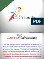 Presentacion Club Tucusito en Power Point Para Los Interesados en Asociarse