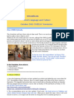 Omilo Newsletter October 2011