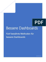 Bessere Dashboards