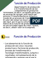 Funcion Produccion