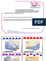 Weather Fronts Cards WN