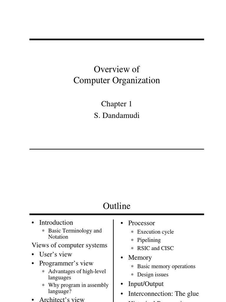 computer organization and assembly language | Input/Output