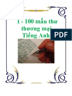 100 Mau Thu Thuong Mai Tieng Anh