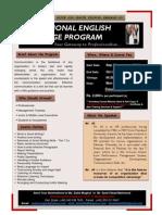 Professional English Lanuage Program