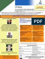 Brochure of Islamic Banking & Finance Course