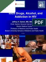 Hiv and Drug Abuse.
