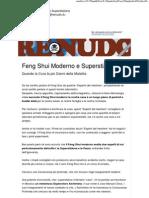 Feng Shui Moderno e Superstizione