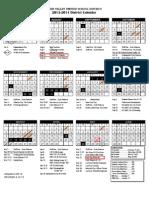 dvusd 2013-2014 district calendar