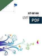 GT I8160 Manual