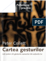 Peter Collet - Cartea Gesturilor