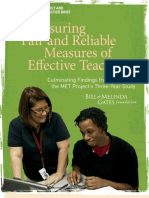 MET Ensuring Fair and Reliable Measures Practitioner Brief