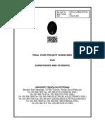 FYP Guidelines 2011_v10 UTP