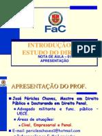 Slides_IED_Nota de Aula_01 - 2012.1