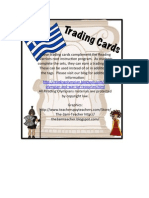 Reading Warrior Trading Cards Greek Latin Roots