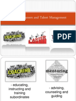 Coaching, Careers and Talent Management