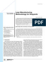 Lean Manufacturing Methodologi Shipyard