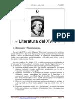 Literatura Del s. XVIII