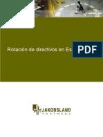 Rotacion de Directivos en España 2006