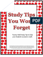 Math Study Tips You Wont Forget
