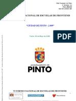 Caracteristicas Torneo Nacional de Escuelas Pinto 2009 Patrocinadores 08 09