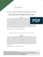 Avaliação do nível de ruído em instalaçõs para suínos - Carlos A. de P. Sampaio et al