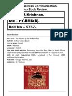sherlock holmes(Book Review)