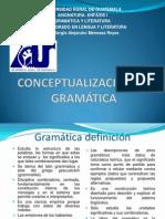 CLASE No. 1 SAN FELIPE CONCEPTUALIZACIÓN DE GRAMÁTICA