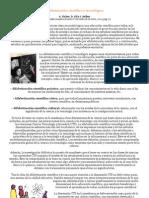 ALFABETIZACIÓN CIENTÍFICA Y TECNOLÓGICA