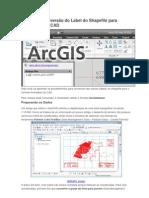 ArcGIS 10 Conversão do Label do Shapefile para Annotation do CAD