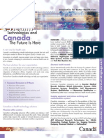 E-Health Technologies and Canada