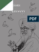 130544428 Questions Answers II by Baba Kehar Singh Ji