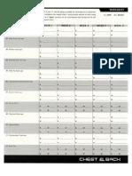 P90X Calendar (alternate) pdf | Shoulder | Limbs (Anatomy)