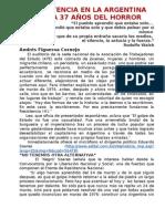 LA RESISTENCIA EN LA ARGENTINA ACTUAL, A 37 AÑOS DEL HORRORdoc