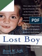 Lost Boy, by Brent W. Jeffs - Excerpt