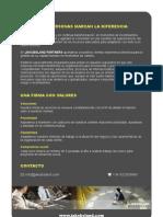 Jakobsland Partners brochure Spanish