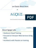 Agoge Labs Amazon Elastic Block Store