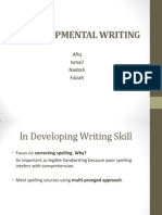 Developmental Writing